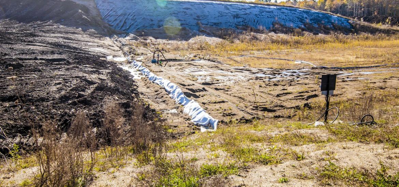 Enfouissement des sols contaminés – Enfouibec